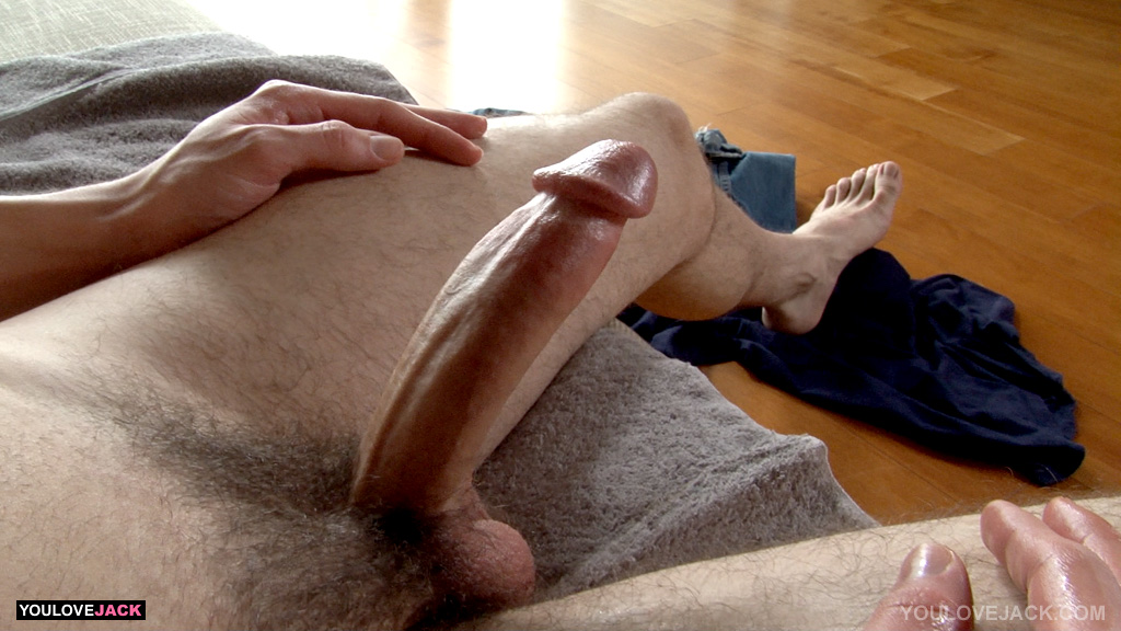 youlovejack danny milk shoots big load of cum from big cock