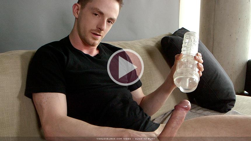 Intense Guy Orgasm Solo